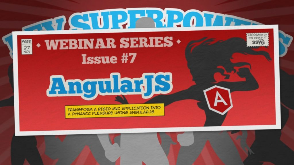 How to make web applications with AngularJS and ASP.NET MVC | Dev SuperPowers Episode 7