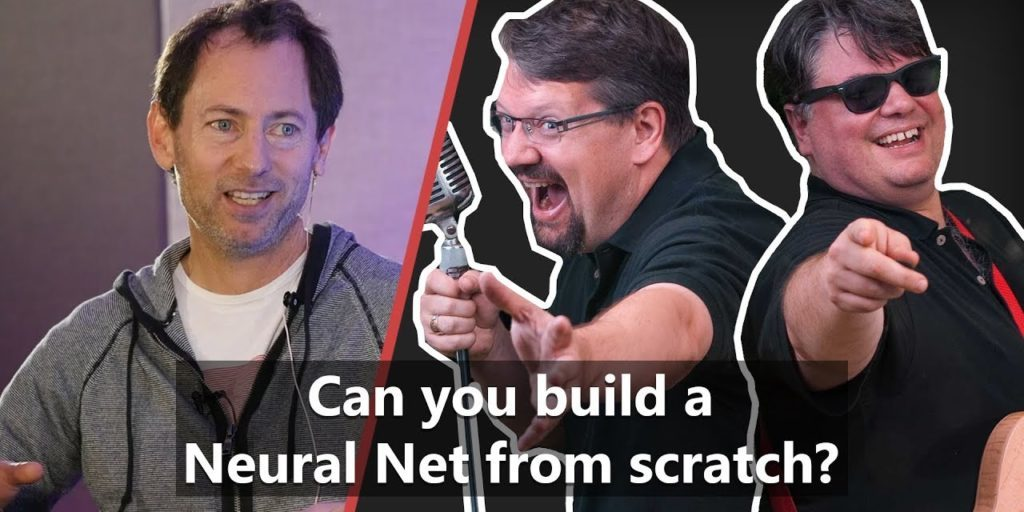 Can you build a Neural Net from scratch? – Richard Campbell, Carl Franklin & Joe Albahari on .NET Rocks! Live from NDC Sydney 2018